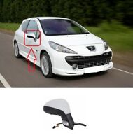 NEW PEUGEOT 207 2006 - 2012 OUTSIDE WING MIRROR ELECTRIC FOLDING RIGHT O/S LHD