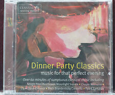 Rare Classic Dinner Party CD Classic FM Sealed MINT 12 Trks 68 min Fab!
