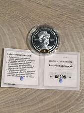 Médaille - Les Présidents Francais - Charles de Gaulle 2010