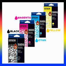 Genuine Epson 252 252XL High Yield Bk/C/M/Y for WF-3620/3640/WF7610/7620 T253692