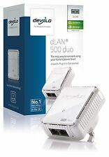 Devolo 9100 cpl dlan 500 duo add-on, adaptateur 2 ports lan, mineur box mark