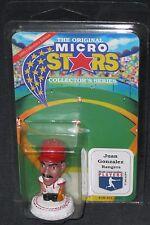"Juan Gonzalez~Texas Rangers~New 1995 ""Micro Stars"" Toy Sports Baseball Figure"