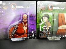 Attack on Titan Ruler Levi Giant SET of 2 Shingeki no Kyojin Japan Ichiban Kuji