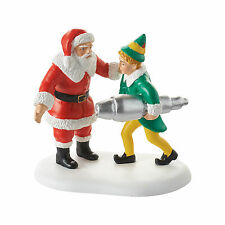 Dept 56 Elf the Movie Christmas Village Buddy Salvages Kringle 3000 4053410 NEW