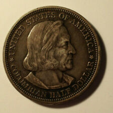 United States 1892 Columbian Exposition Half Dollar Coin .900 Silver 12.6g