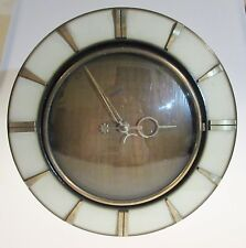 Vintage Art Deco German made electric wall clock by Garant