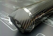 Triumph Tiger 800 2011 2012 2013 Carbon Round Carbon Outlet Road Legal Exhaust