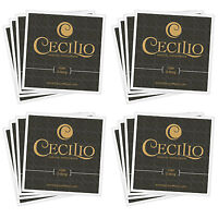 4 SETS NEW VIOLIN STRINGS SIZE 4/4 3/4 1/2 1/4 1/8 1/16