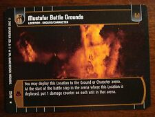 Star Wars TCG ROTS Mustafar Battle Grounds