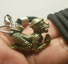 LORD HANUMAN MONKEY RAMAYANA MUAY THAI AMULET LIFE PROTECTION PENDANT & NECKLACE