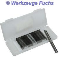 10 Stück HW (HM) Wendeplatten 50x5,5x1,1mm Z4 Rücken+Quernut Wendemesser
