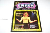 JULY 4 1983 ENFER music magazine BLACK SABBATH AC/DC