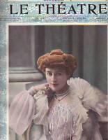 1902 Le Theatre October 1 - Lucy Gerard; S.-Weber; Coquelin cadet; Bessie Abott