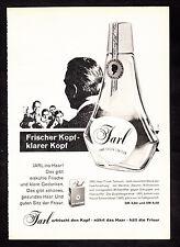 3w2261/ Alte Reklame von 1960 - JARL - Haar-Frisch-Tonicum