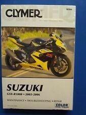 Clymer Repair Manual NEW M266 Suzuki GSX-R1000 2005-2006