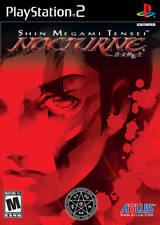 Shin Megami Tensei: Nocturne PS2 New Playstation 2