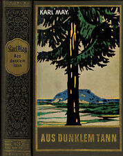 Karl May, Aus dunklem Tann, Ges. Werke Bd 43, Stand.-Ausg. Bamberg, 144. Tausend