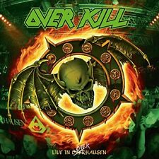 OVERKILL - LIVE IN OVERHAUSEN - NEW CD / DVD