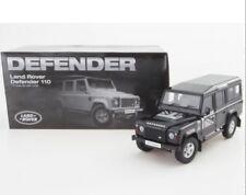 1 18 Land Rover defender 110 Dorlop LWB gris plateado RHD detallado