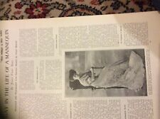 m12g ephemera 1907 article a day in the life of a mannequin