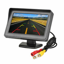 "4.3"" Color LCD TFT Reverse Rear View Monitor Display For Car Back Up Camera"
