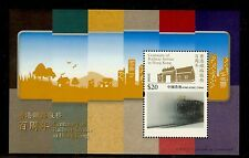 China Hong Kong 2010 S/S $20 Centenary of Railway Stamp Train