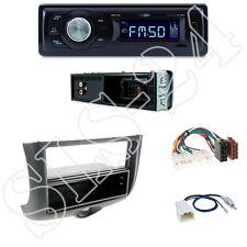 CALIBER rmd021 autoradio + TOYOTA YARIS 04/99-02/03 MASCHERINA BLACK + Adattatore ISO