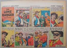 Lone Ranger Sunday Page by Fran Striker and Charles Flanders from 9/28/1941
