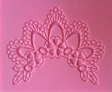 Lace Crown Silicone Mold, Candy, Fondant, Cake Decorating - NEW