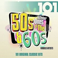 VARIOUS ARTISTS - 101: NO. 1'S OF THE 50'S AND 60'S NEW CD