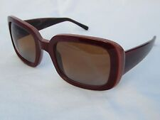 VERA WANG Womens NOEMI Burgundy SUNGLASSES - ITALY -NEW-52/21/135-100%UV-NEW