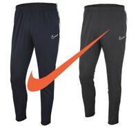 Nike Kids Boys Tracksuit Bottoms Academy 19 Football Training Pants Zip Pockets