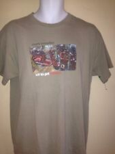 MARK KNOPFLER WORLD TOUR 2008  LARGE  T SHIRT T ROCK  DIRE STRAITS OUT OF PRINT