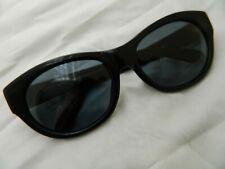 Vintage sunglasess Christian Roth 80's 4005 black plastic large big