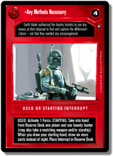 Any Methods Necessary [Near Mint] ENHANCED CLOUD CITY star wars ccg swccg