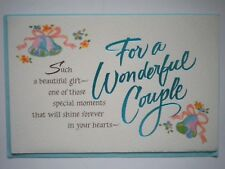 "American Greetings ~ ""FOR A WONDERFUL COUPLE"" ANNIVERSARY GREETING CARD"