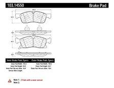 Disc Brake Pad Set fits 2012-2019 Mercedes-Benz GL350 ML350 GLE43 AMG,GLS450  C-