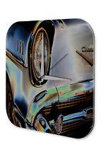 Horloge murale Vintage Car Décoration  gris millésime Signes