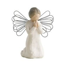 Willow Tree Angel Figurine - Angel of Prayer 26012 in Branded Gift Box