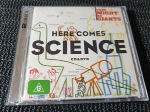 They Might Be Giants - Here Comes Science - 2009 CD+DVD (NTSC) - indie rock pop