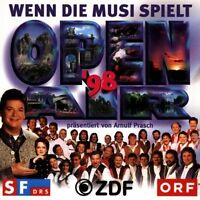 Wenn die Musi spielt-Open Air 1998 (ZDF/ORF) Goldried Quintett, Bergfeuer.. [CD]