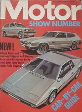 Motor magazine 18/10/1975 featuring Reliant Scimitar GTE, Renault 30TS road test