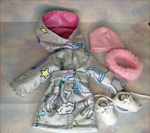 """OOAK outfit+shoes  14.5"""" Ruby Red FF _Gotz little kids _Willie Wishers"""