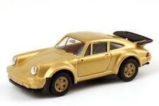 1:87 Porsche 911 Turbo Gold Metallic Golden Rims - Herpa 166096/80