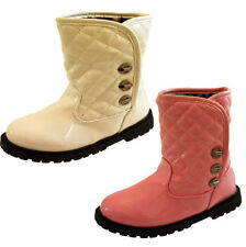 Faux Leather Party Boots for Girls
