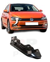 Per VW Polo 2017 - 2020 Nuovo Paraurti Anteriore Superiore Supporto Steel Dx O/S