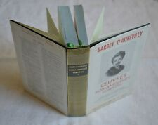 OEUVRES ROMANESQUES BARBEY D AUREVILLY ED GALLIMARD LA PLEIADE 1966 TOME 1 BE