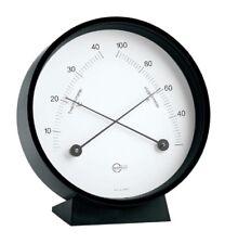 Thermometer/Hygrometer BARIGO Home Black Hanging/Posts 85mm