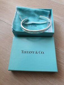 Tiffany & Co Silver 925 Atlas Bracciale in ottime condizioni come da foto