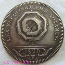 BG9083 - INSIGNE BADGE JETON DE NOTAIRE 1821